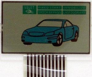 LCD дисплей на шлейфе для STARLINE А4
