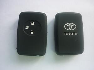 Силиконовый чехол на ключ HYUNDAI New IX35 4 кнопки