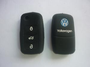 Силиконовый чехол на ключ VOLKSWAGEN Bora, Passat, Golf, Polo, Tiguan,Touran
