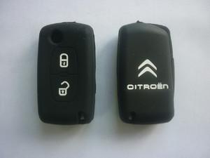 Силиконовый чехол на ключ CITROEN C QUATRE, C Triomphe, C4, C5 (Hatchback) 2 кнопки