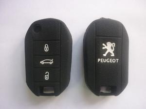 Силиконовый чехол на ключ PEUGEOT 508
