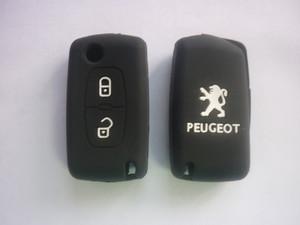 Силиконовый чехол на ключ PEUGEOT 307