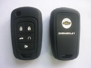 Силиконовый чехол на ключ CHEVROLET 5 кнопок