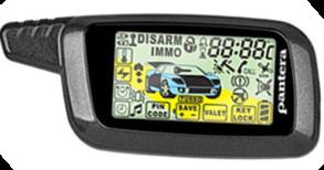 Брелок автосигнализации PANTERA SLK650 RS