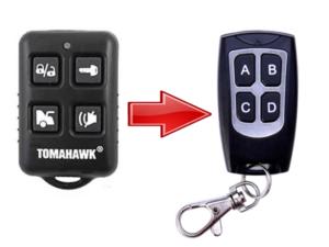 Дополнительный брелок для автосигнализации TOMAHAWK TW9010