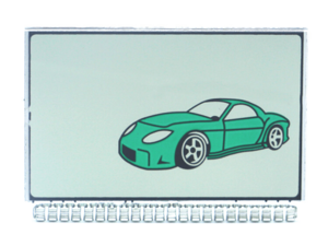 LCD дисплей на ножках для TOMAHAWK TZ9020 / TZ9030 / 7.1 / 9.3 / 9.7