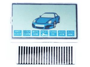 LCD дисплей на шлейфе для брелока StarLine В6