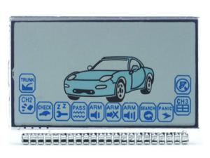 LCD дисплей на ножках для брелока STARLINE A6