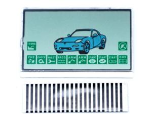LCD дисплей на шлейфе для брелока STARLINE A8 / A9