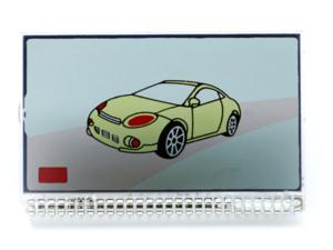 LCD дисплей на ножках для брелока SCHER KHAN MAGICAR 7 / 8