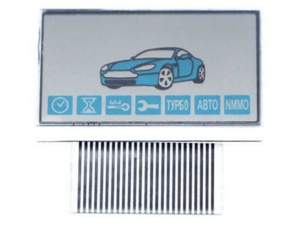 LCD дисплей на шлейфе для StarLine E90 / E91
