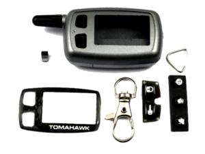 Корпус брелока TOMAHAWK TW9010 / TW9020 / TW9030 / TW9000 / TW7010 (узкая антенна)
